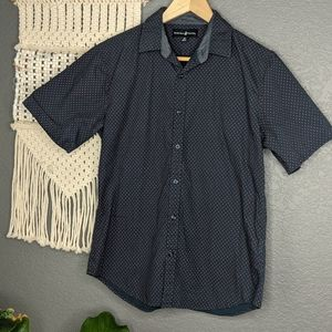 Beverly Hills Polo Club Short Sleeve Button Down
